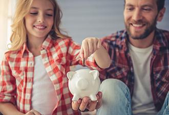 image: a couple saving money to buy a home
