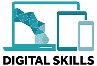 Image: digital skills logo