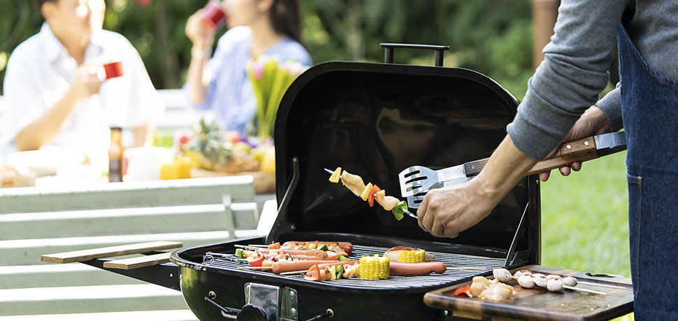 BBQ fire safety warning