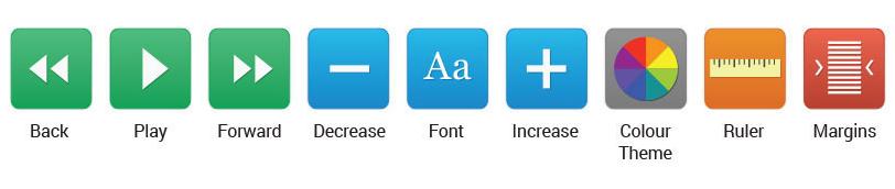 image: Recite Me toolbar